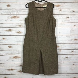 Eddie Bauer Wool Blend dress (binA3)